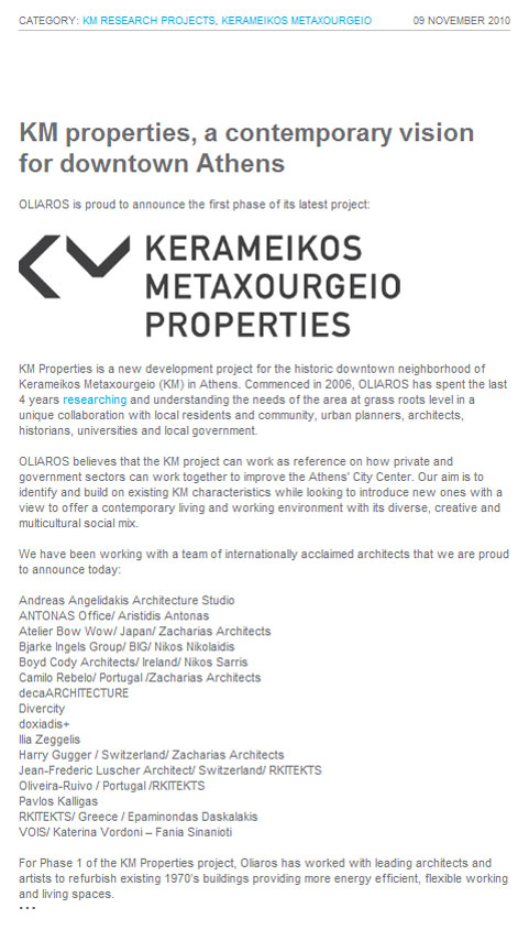 KM Properties Project